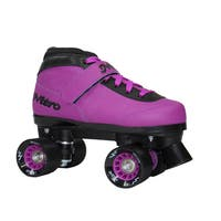 Epic Nitro Turbo Purple Quad Speed Roller Skates