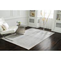 Jani Ina Flatweave Grey/White Rug - 8' x 10'