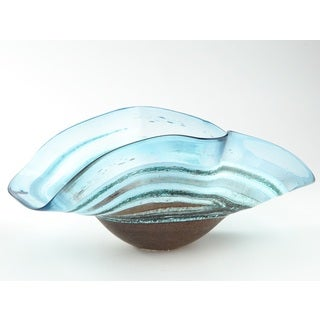 Shoal Wave Art Bowl