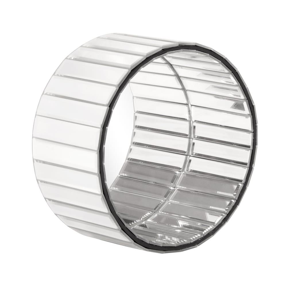 Allan Andrews Prism Round Mirror (Size), Clear