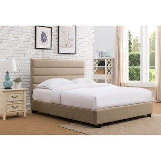 Rize Upholstered Panel Platform Bed
