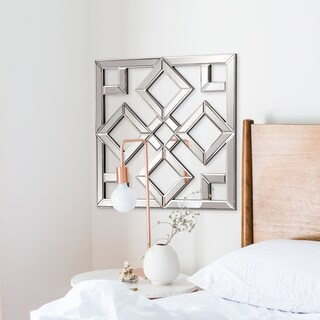 Allan Andrews Moira Mirrored Lattice Mirror