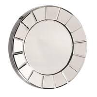 Allan Andrews Dina Small Round Mirror - Chrome
