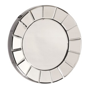 Allan Andrews Dina Small Round Mirror - Chrome