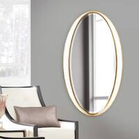 Allan Andrews Rania Oval Mirror