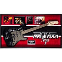 Van Halen Signed Guitar Jump Custom Framed