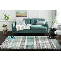 Jani Diego Flatweave Multi Color Recycled Materials Rug (8' x 10')