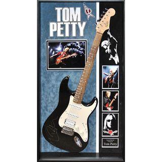 Tom Petty Signed Guitar Custom Framed