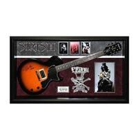 Slash Guns N' Roses Signed Guitar Custom Framed