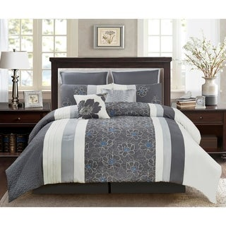 Wonder Home Manila 8PC Embellished Comforter Set
