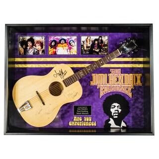 Jimi Hendrix - Signed Guitar Custom Framed