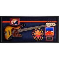 Red Hot Chili Peppers Signed Guitar Californication Custom Framed