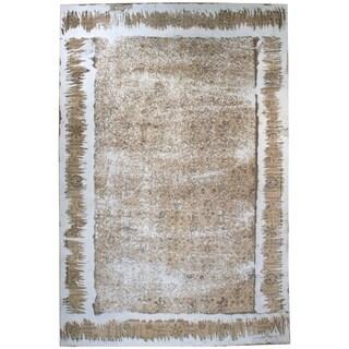 Wool Tabriz Rug - 9'9'' x 15'3''
