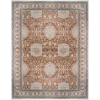 Wool Tabriz Rug (10'8'' x 14'2'') - 10'8'' x 14'2''