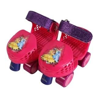 Playwheels Disney Princess Rollerskate Junior Size 6-12 with Knee Pads