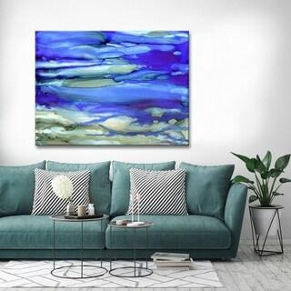 Ready2HangArt 'Ocean Blue' Abstract Canvas Wall Art