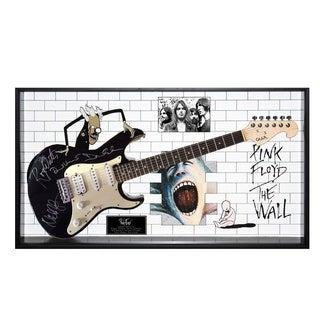 Pink Floyd Signed Guitar The Wall Custom Framed