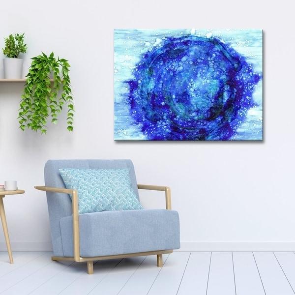 Ready2HangArt 'Celestial' Canvas Wall Decor by Max+E - Blue