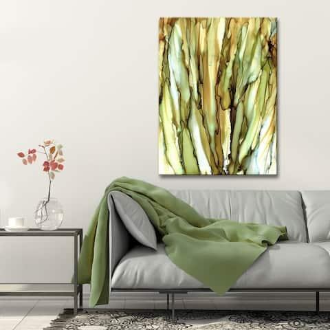 Ready2HangArt 'Cattails' Abstract Canvas Wall Art
