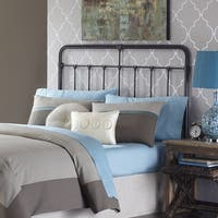 Fashion Bed Group Fairfield Metal Headboard in Dark Roast