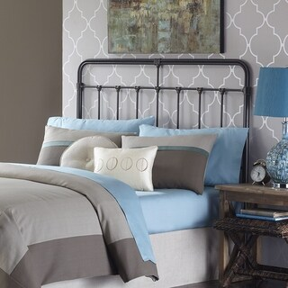 Fashion Bed Group Fairfield Metal Headboard in Dark Roast (2 options available)