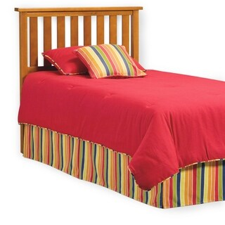 Fashion Bed Group Kids Full/Queen Size Belmont Wood Headboard in Maple