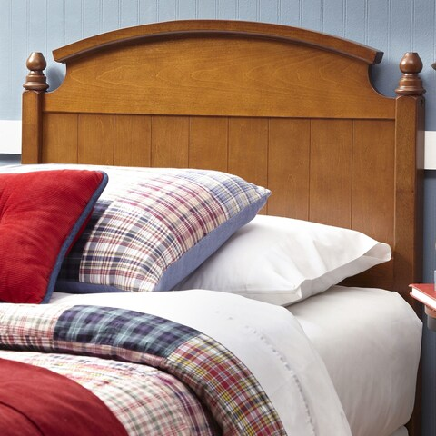 Fashion Bed Group Kids Danbury Wood Headboard in Walnut