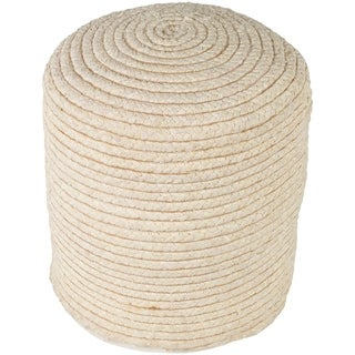 "Cahaba Traditional Textured Butter 16"" Pouf"