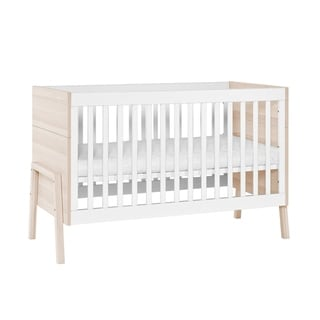 Little Guy Comfort Spot Children's Convertible 3 in 1 Crib and Youth Bed - Natural
