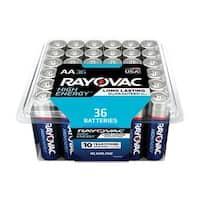 Rayovac  AA  Alkaline  Batteries  1.5 volts 36 pk