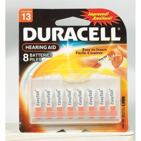 Duracell Hearing Aid Battery 13 1.4 volts 8 pk
