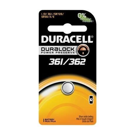 Duracell Watch/Electronic Battery 361/362 1.55 volts 1 pk