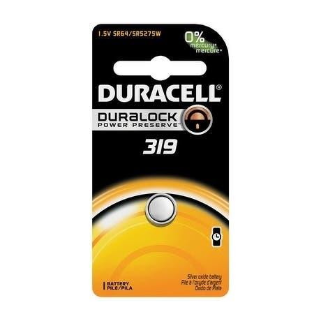 Duracell Watch/Electronic Battery 319 1.55 volts 1 pk