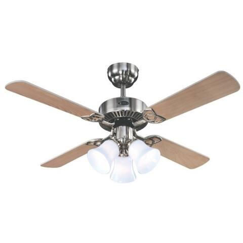 Westinghouse Crusader 18.9 4 42 in. W Ceiling Fan Indoor