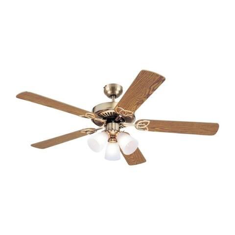 Westinghouse Vintage 52 in. 5 52 in. W Indoor Ceiling Fan