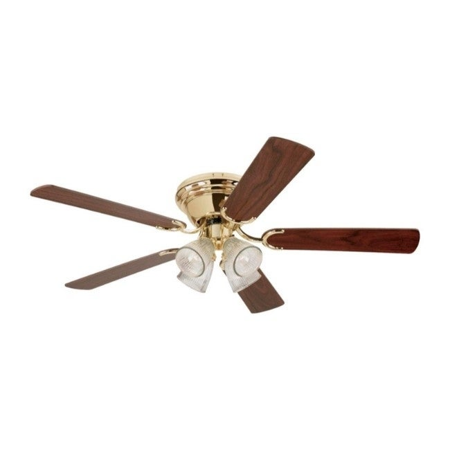 Westinghouse Contempra IV Ceiling Fan 52 in. W Polished B...