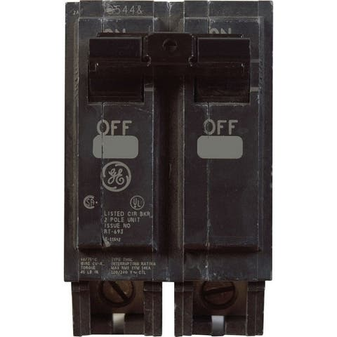 GE Q-Line Double Pole 50 amps Circuit Breaker