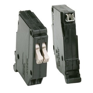 Eaton Tandem/Single Pole 15/15 amps Circuit Breaker