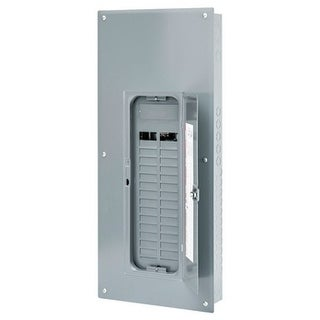 Square D Homeline 225 amps 30 space 60 circuits 120/240 volts Plug-In Single Pole Main Lug Load Center