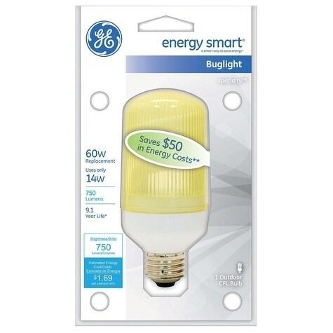GE Energy Smart CFL Bulb 14 watts 750 lumens Specialty B1...