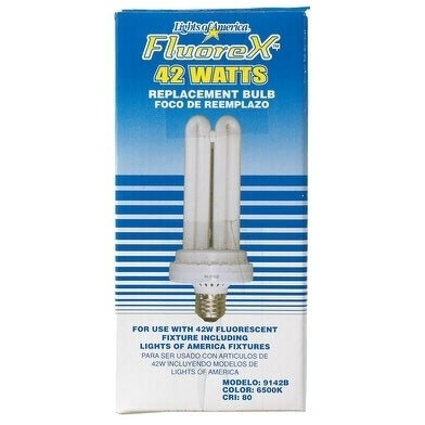 DDI Lights Of America Fluorex Fluorescent Bulb 42 watts 2...