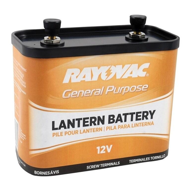 Rayovac Zinc-Carbon General Purpose Lantern Battery 1 pk,...