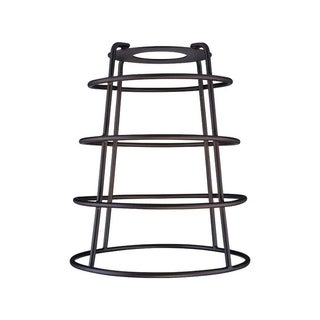 Westinghouse Cylindrical Open Bottom Oil Rubbed Bronze Metal Protective Light Cage Shade