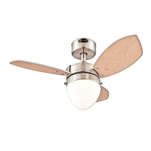 Westinghouse Ceiling Fan 30 In. W Brushed Nickel by Westinghouse