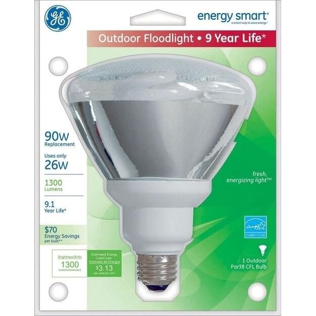 GE Energy Smart CFL Bulb 26 watts 1300 lumens Floodlight ...