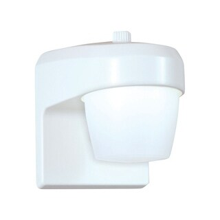 All-Pro White LED Outdoor Wall Lantern