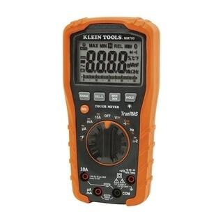 Klein Tools TrueRMS Multimeter Auto-Ranging Orange and Black Digital