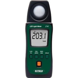 Extech LED Light Meter 40-40,000 FC Green