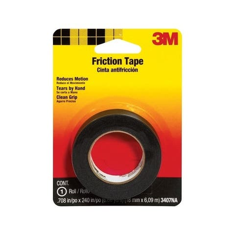 3M 0.708 in. W x 240 in. L Cotton Cloth Friction Tape