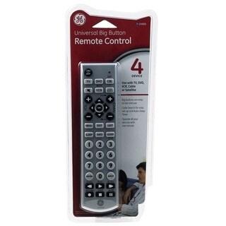GE 4 Universal Big Button Remote Control